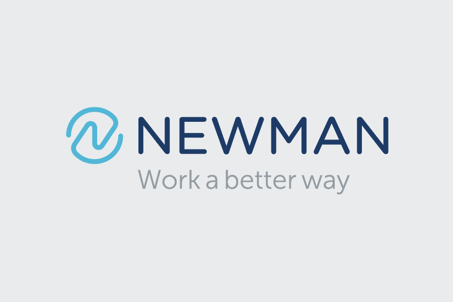 Newman Business Solutions brand identity