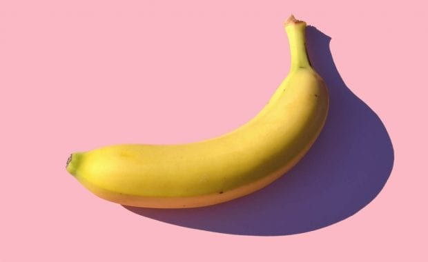 Keep it simple — a banana