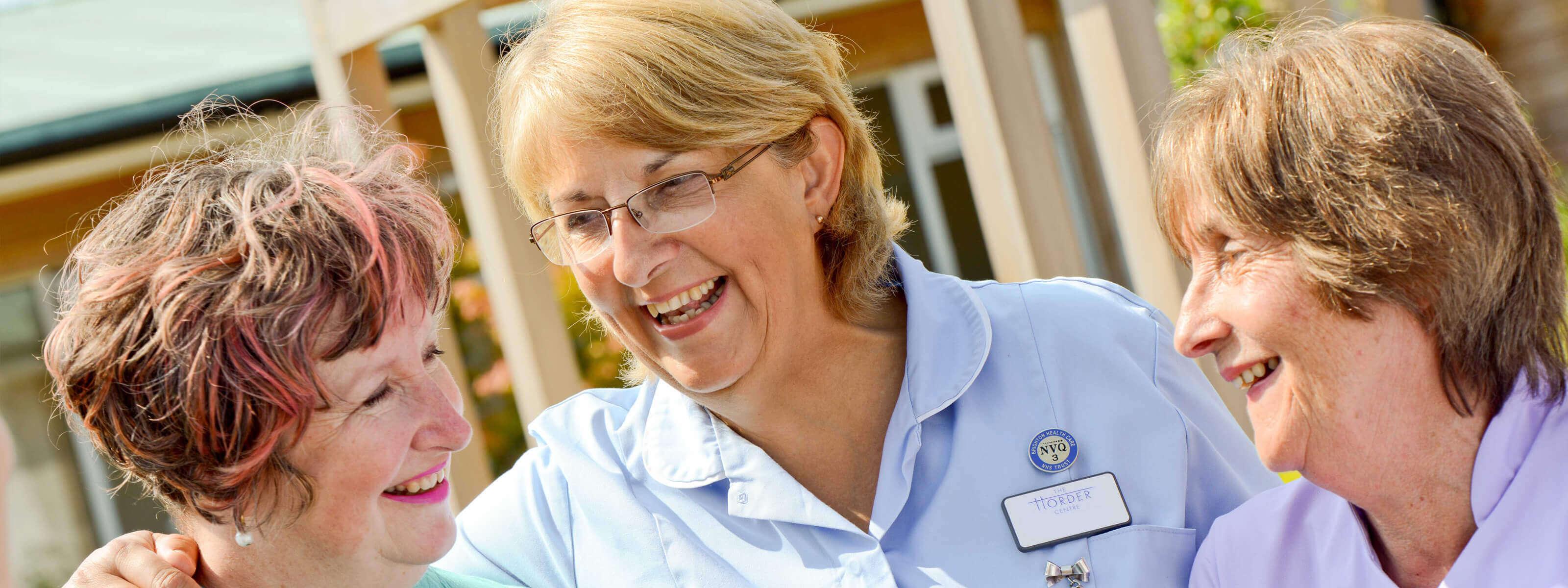 Nursing staff at Horder Healthcare