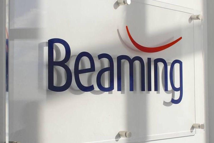 Beaming signage