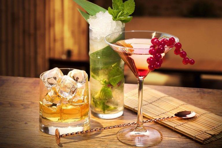 Sushinho cocktails