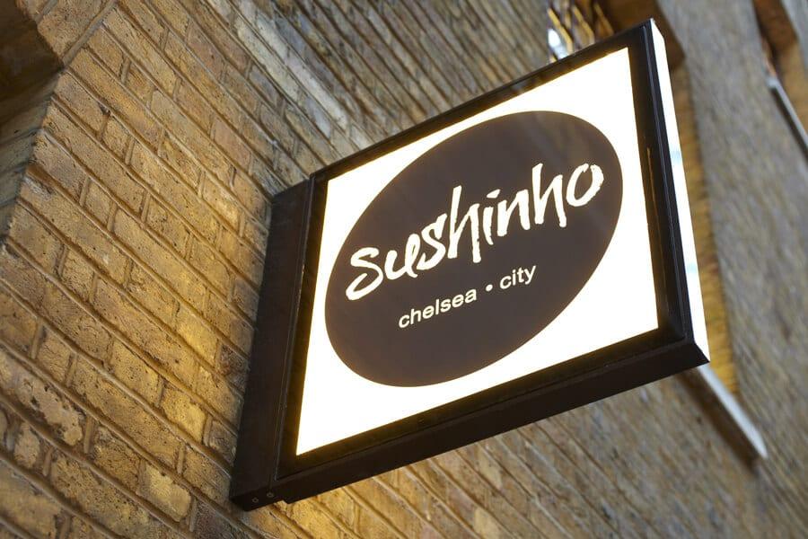 Sushinho branding