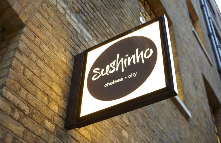 Sushinho signage