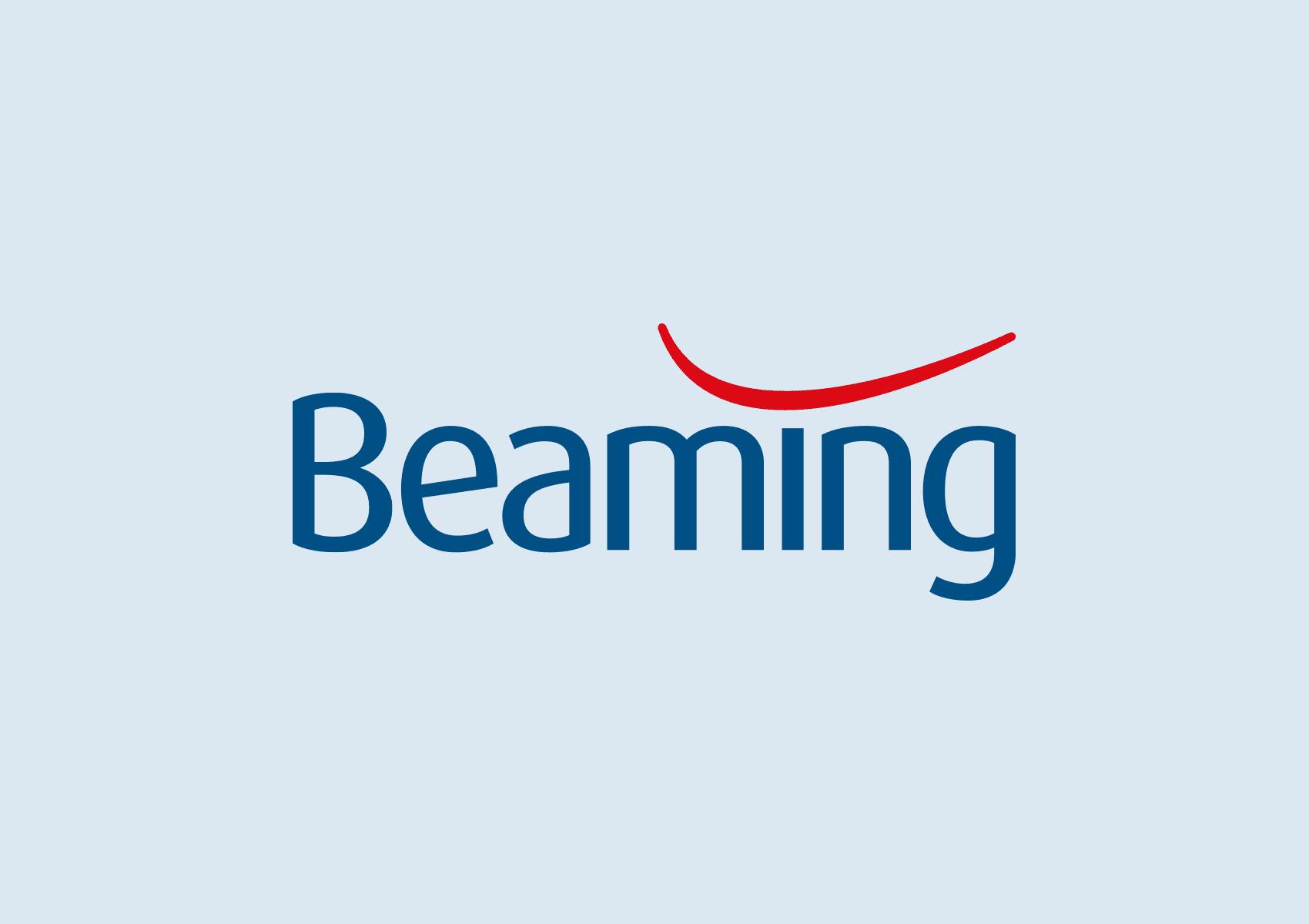 Beaming brand identity