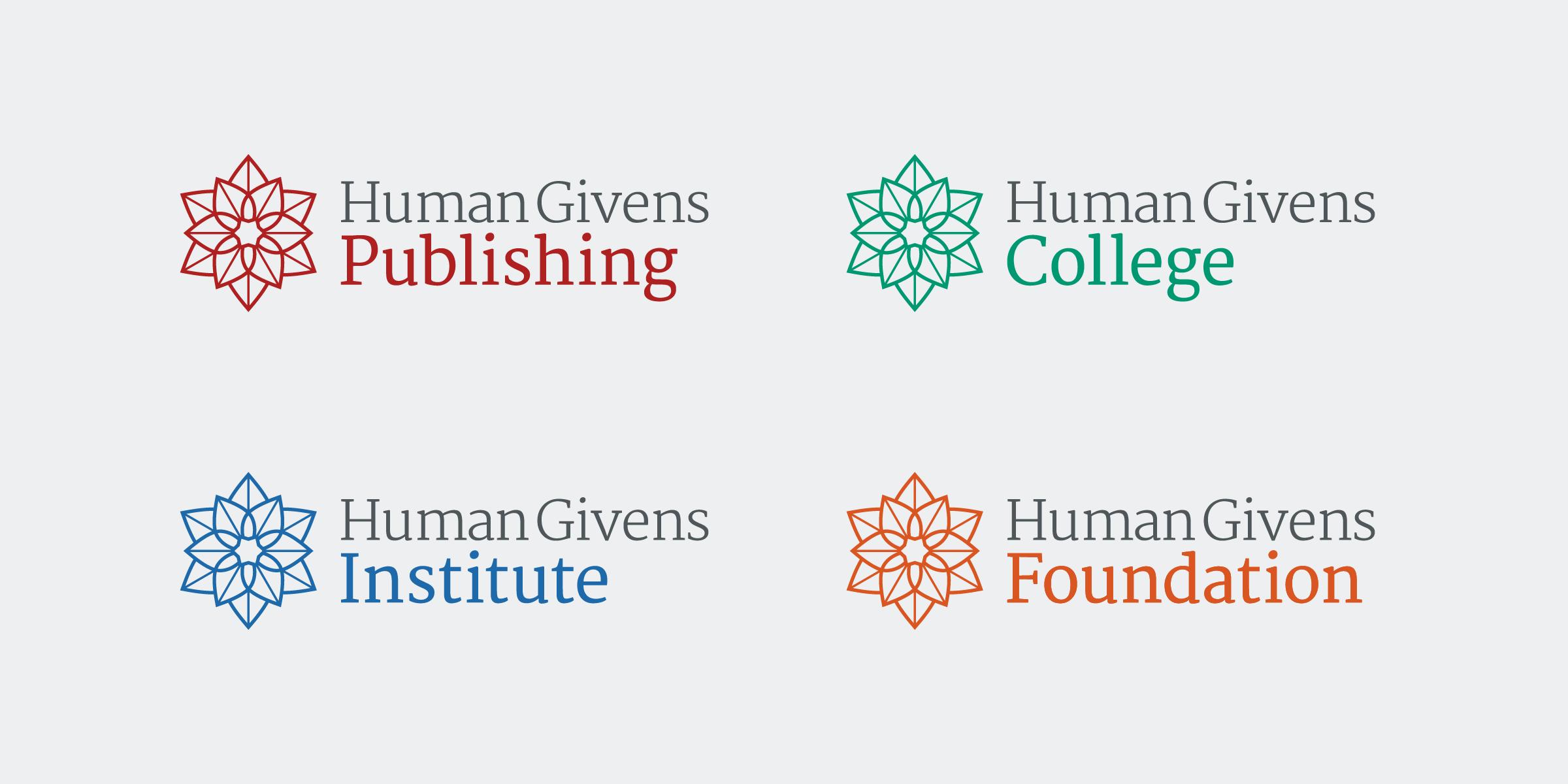 Human Givens brand identity