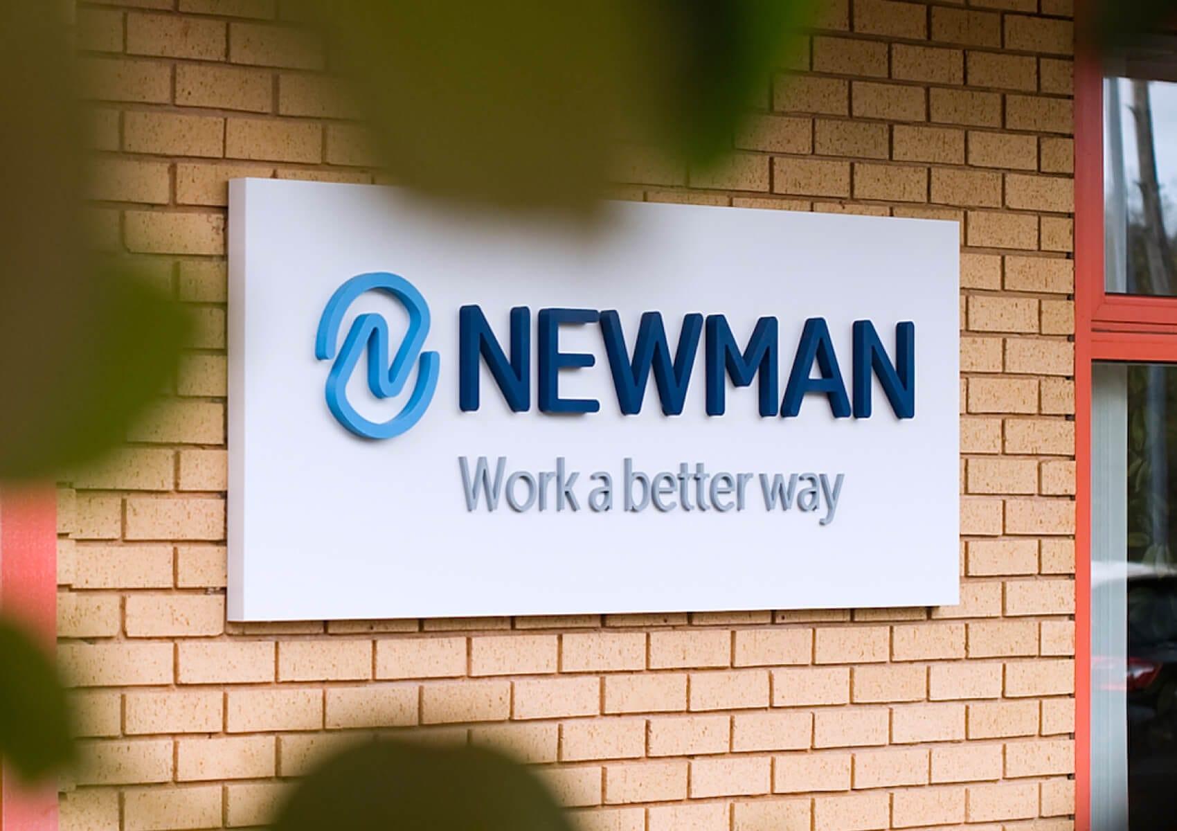 Newman signage