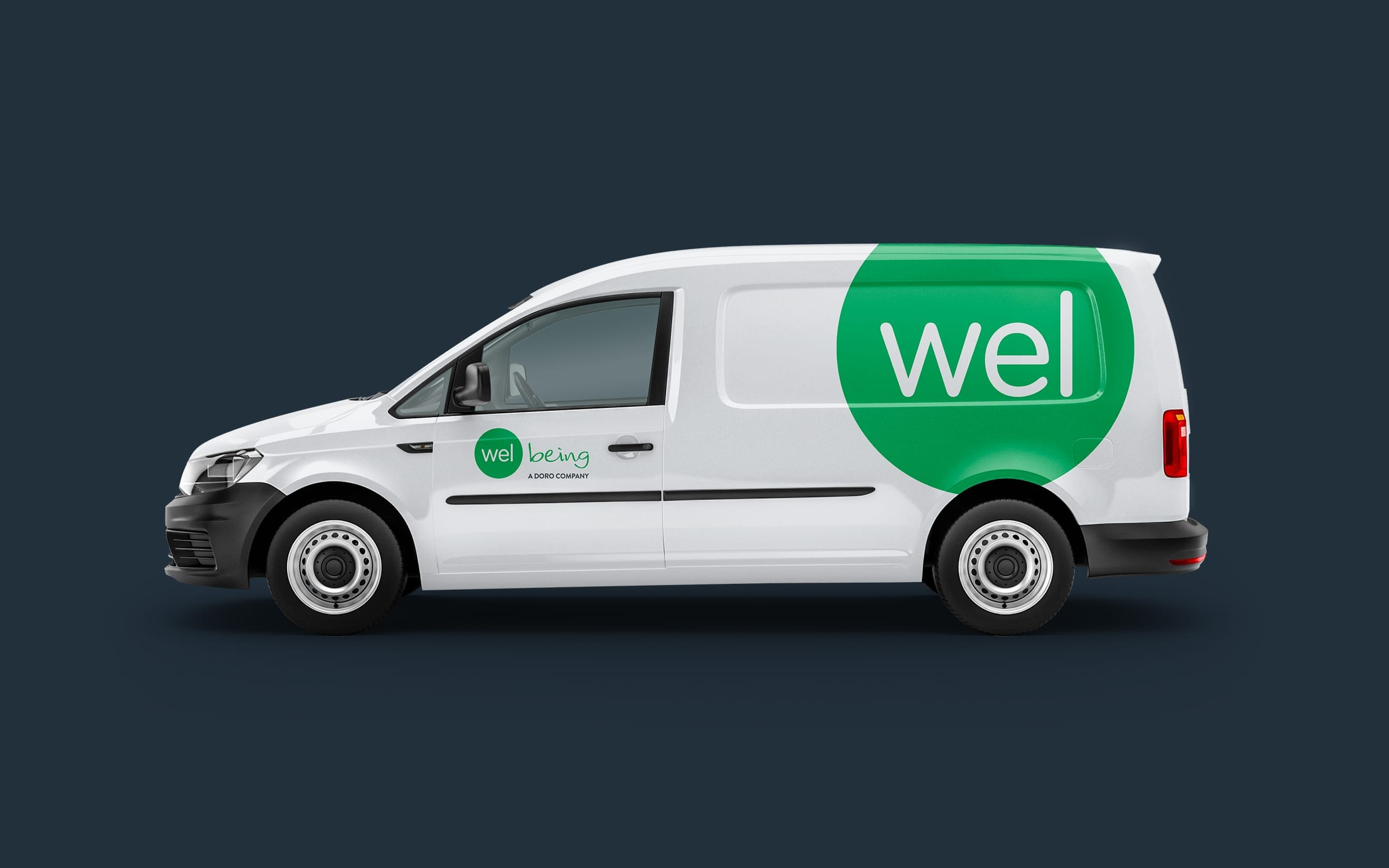 Welbeing vehicle livery