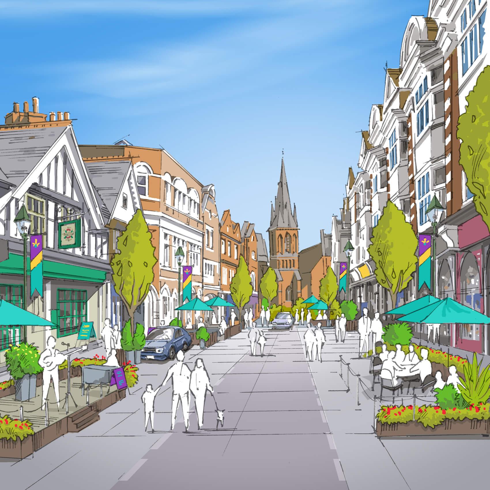 Your Eastbourne BID illustration
