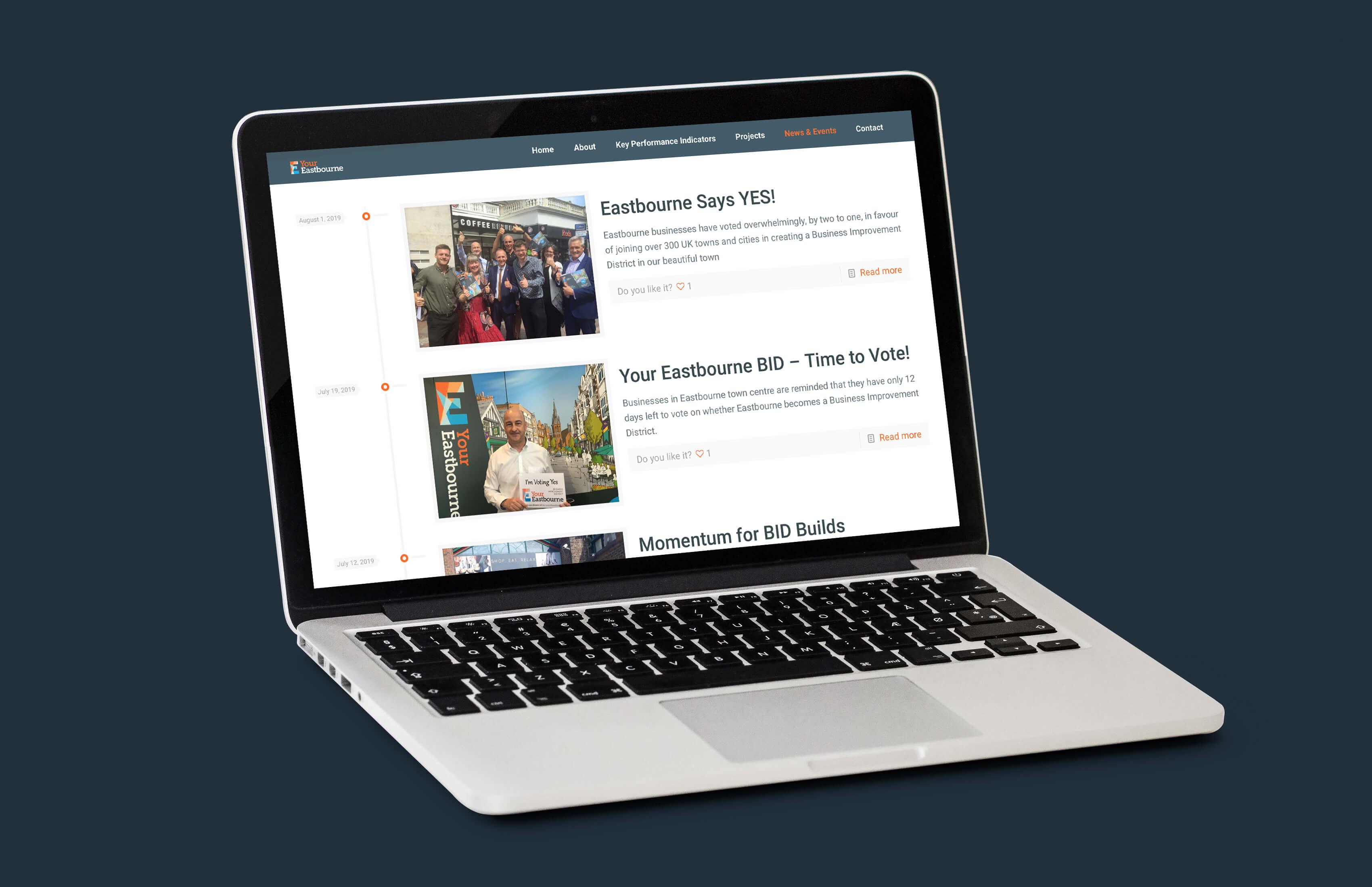 Your Eastbourne BID website