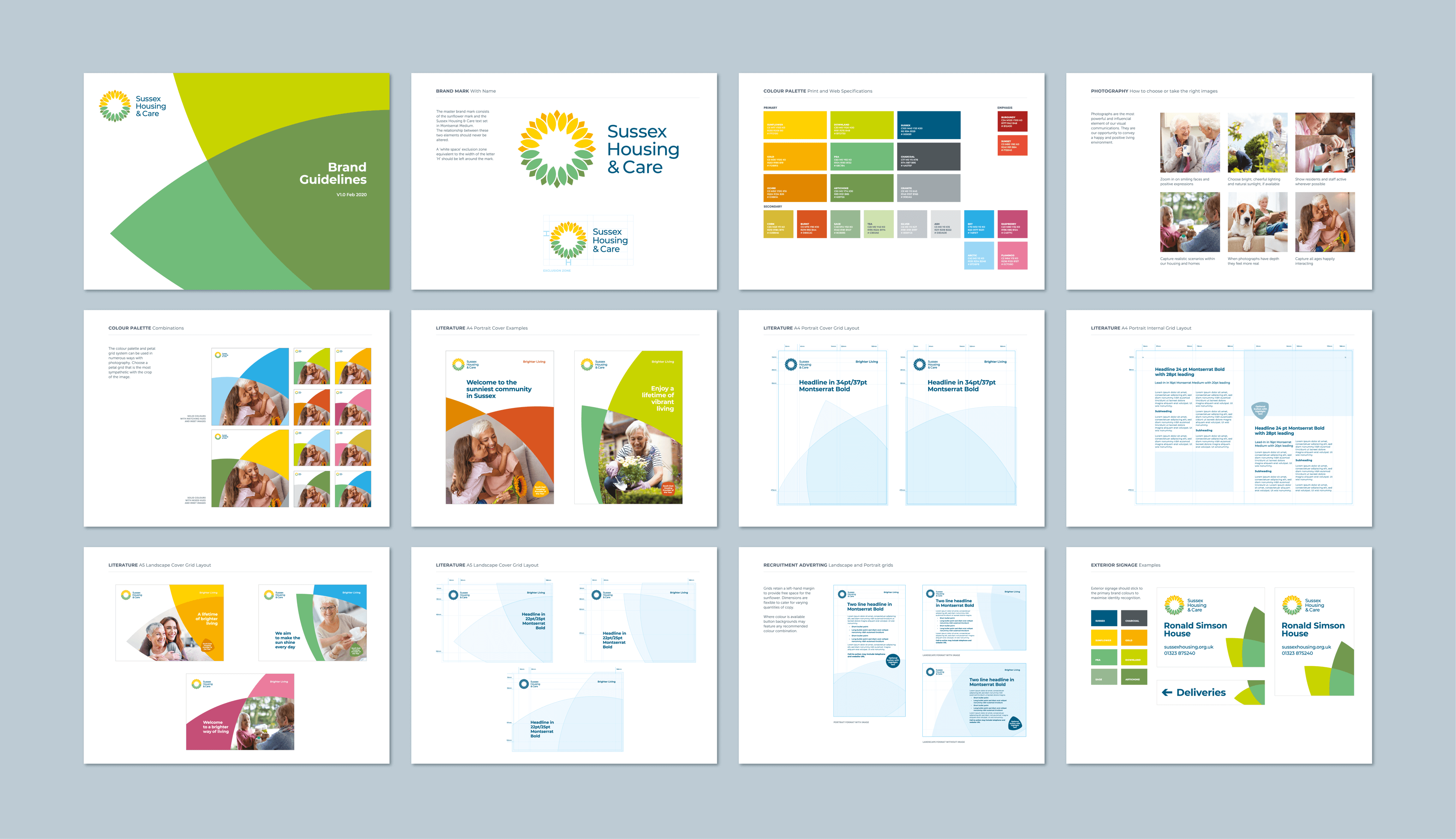 Sussex Housing & Care brand guidelines