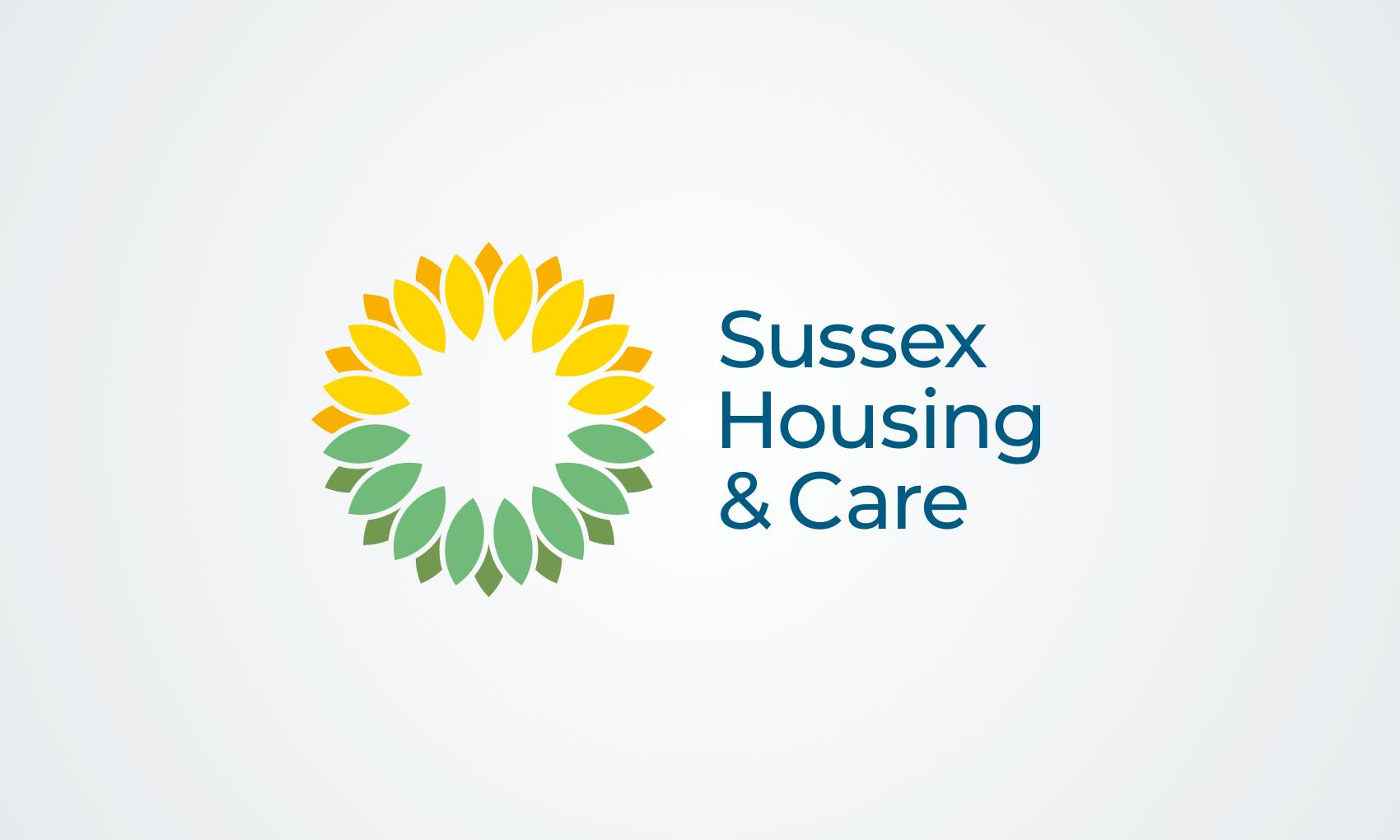 Sussex Housing & Care brand identity
