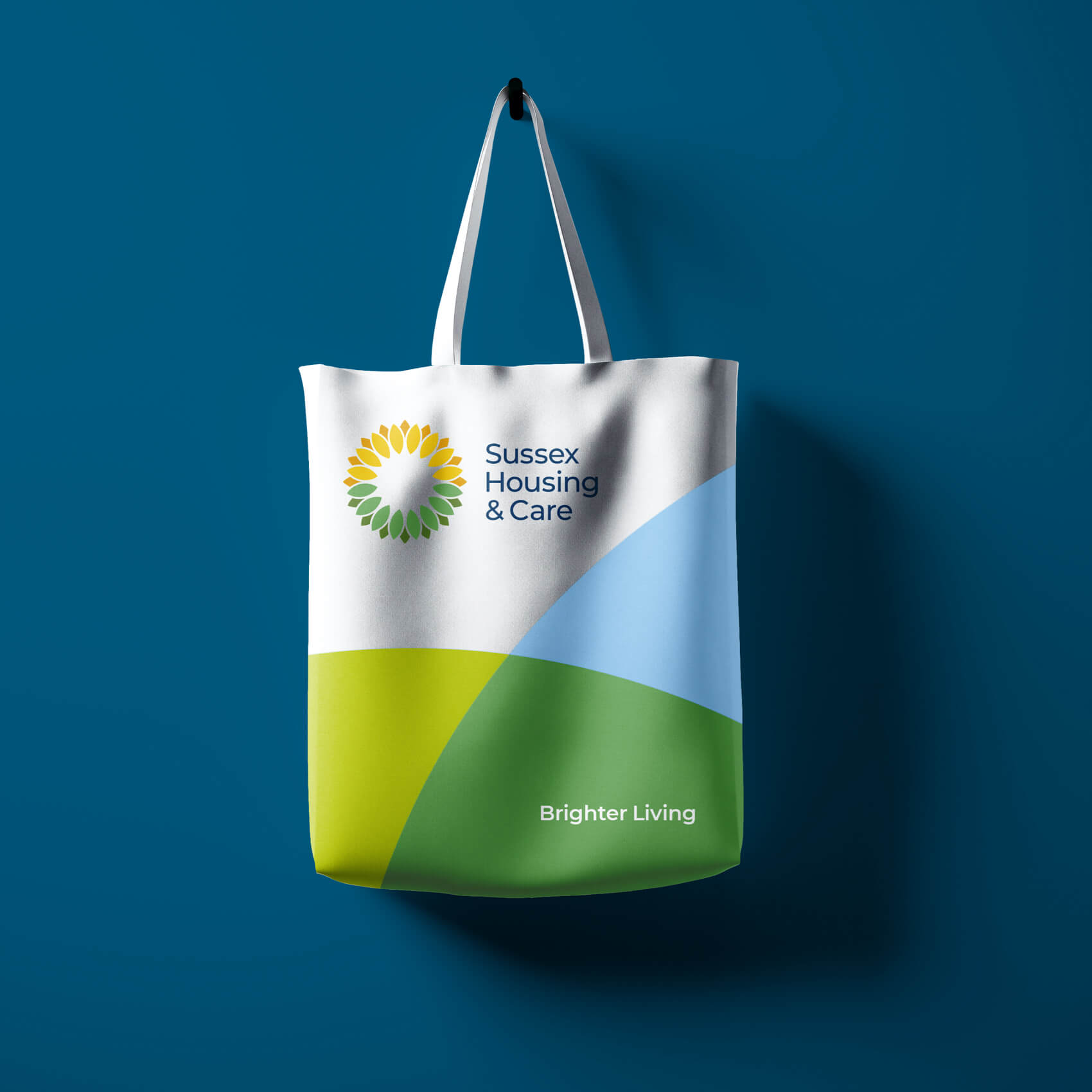 Sussex Housing & Care tote bag
